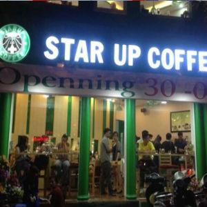 Bảng hiệu cafe đẹp nhất