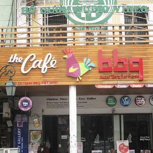 Bảng hiệu đẹp cafe